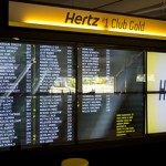Picture of Hertz #1 Club Gold signage