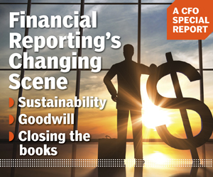 Special Report on Financial Reporting's Changing Scene