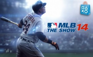 Picture of Sony's Playstation game, MLB the Show 14