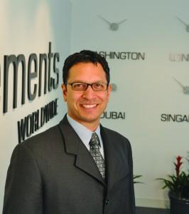 Tarun Chopra, CFO, Clements Worldwide