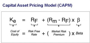 CAPM cost of capital