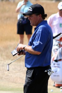 Phil Mickelson: not the happiest of times.