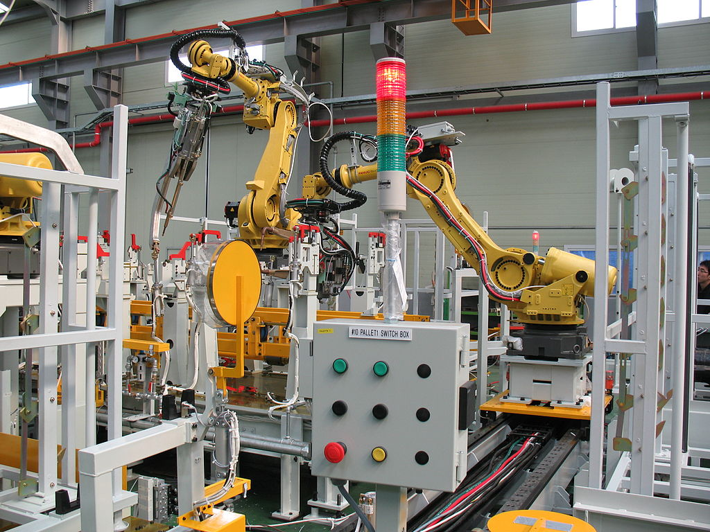 white machine and manufacturing