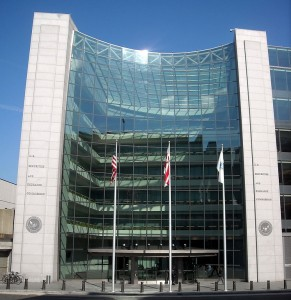 The headquarters of the U.S. Securities and Exchange Commission