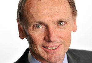 New Tesco CFO Alan Stewart.