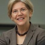 Democratic Senator Elizabeth Warren of Mass.