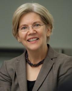 Democratic Senator Elizabeth Warren of Massachusetts.