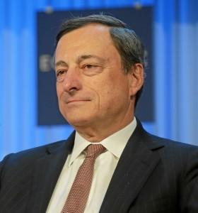 Mario Draghi, European Central Bank president.
