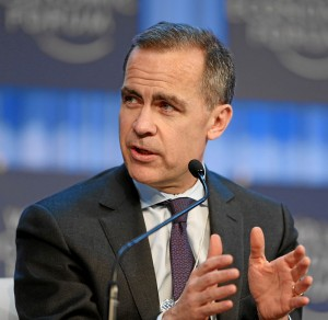 Mark Carney, chair of the Financial Stability Board.