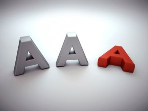 Standard & Poor's creditratingAA