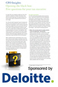 Deloitte Black Box Cover