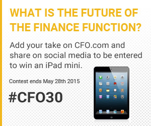 The Future of the Finance Function #CFO30