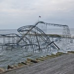 Sandy damaged or destroyed thousands of small and midsized companies, including an amusement park in Seaside Heights, N.J.