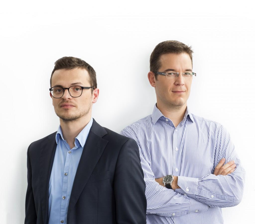 Alexander Van Caeneghem and Jean-Marie Bequevort
