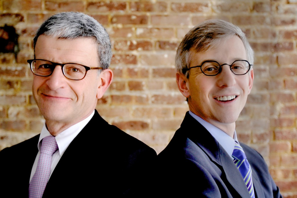 Antoine Gerschel, left, and Lawrence Polsky