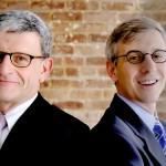 Antoine Gerschel, left, and Lawrence Polsky