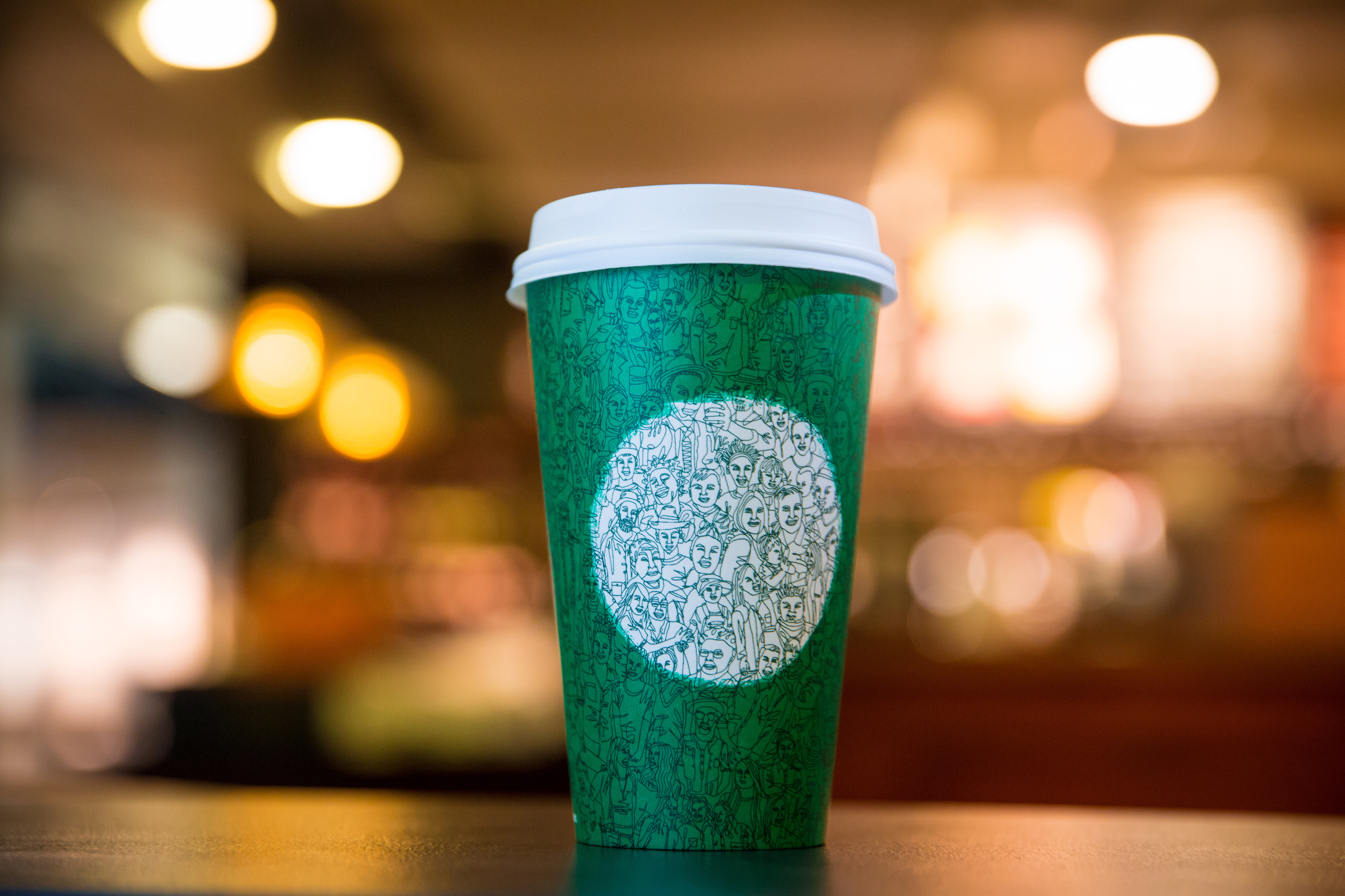 starbucks to hire refugees after immigration ban tr starbucks cup photographed on 26 2016 joshua trujillo starbucks