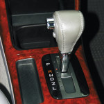 Gear shifter in reverse
