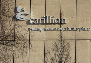 Carillion headquarters in Wolverhampton, England