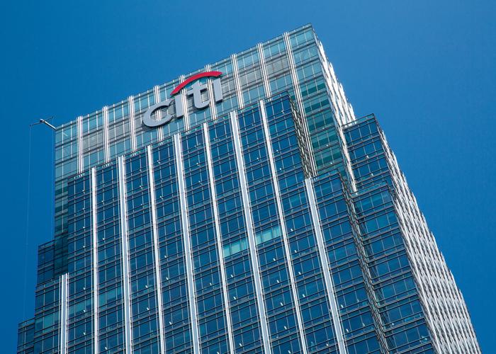 Citigroup building poor internal controls