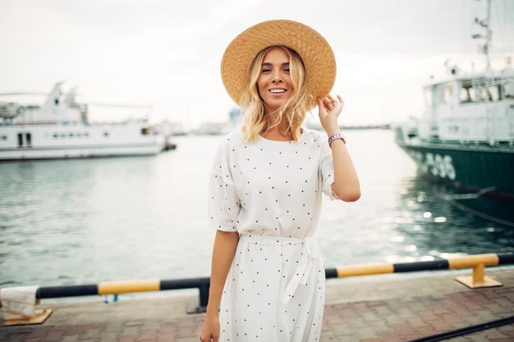 woman at marina farfetch