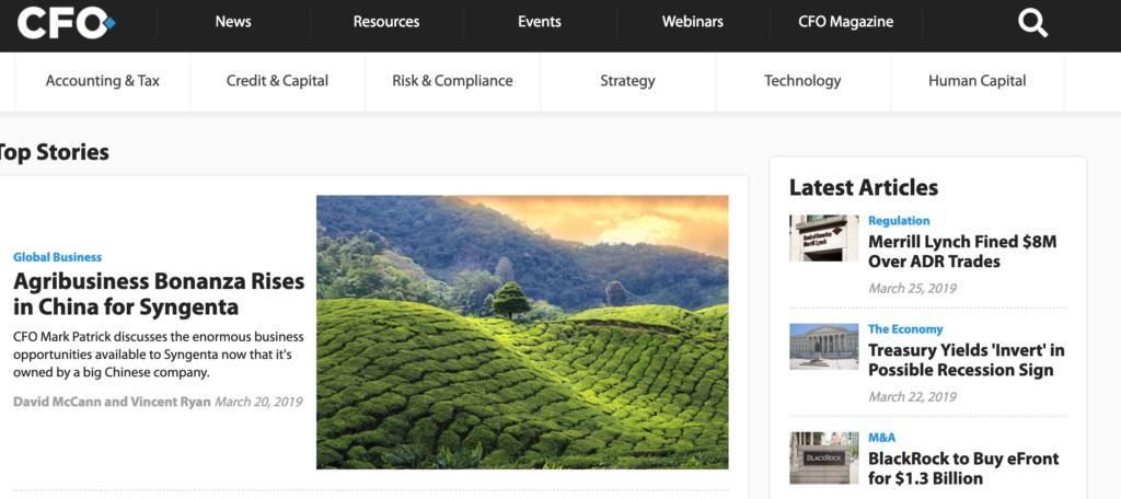 Welcome to CFO's New Website! - CFO