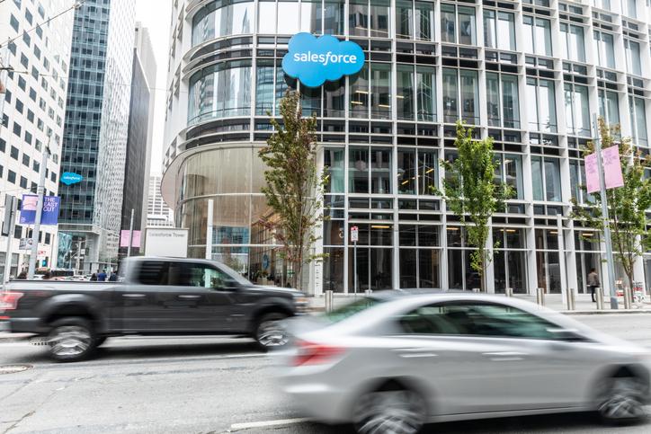 Salesforce to Buy Vlocity in Vertical CRM Move - CFO