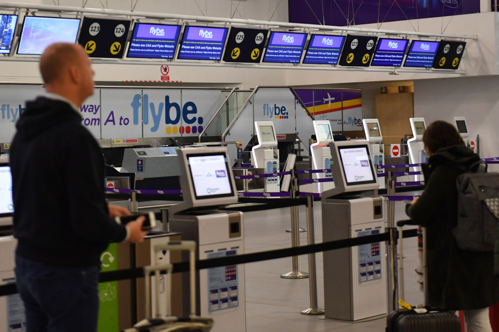U.K. Airline Flybe Closes Two Months After Rescue Deal