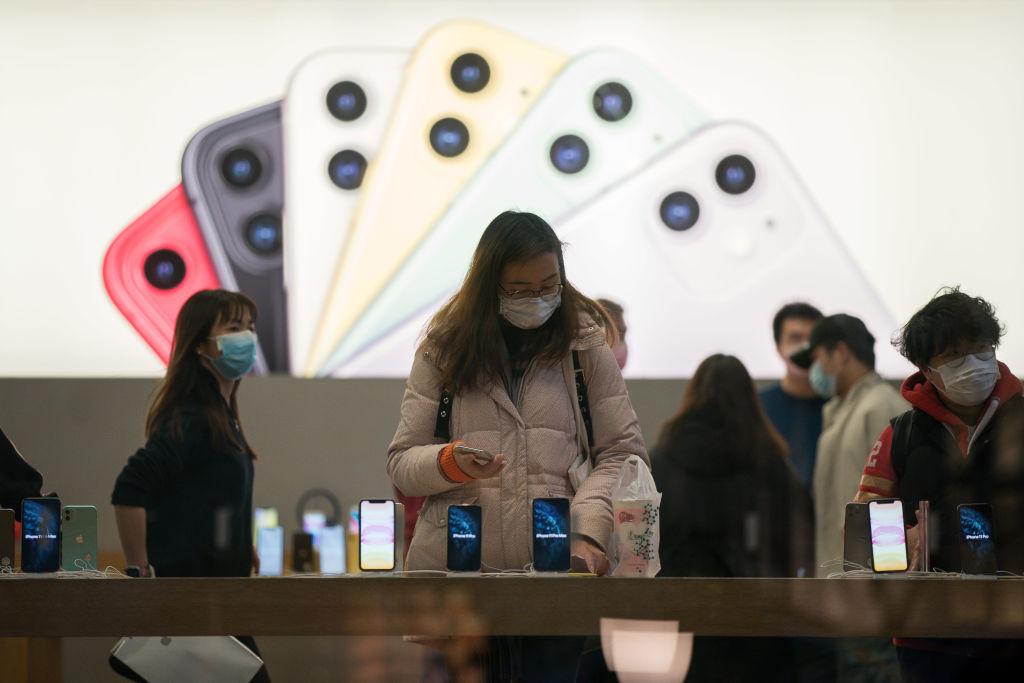 Apple iPhone Sales Spike in China