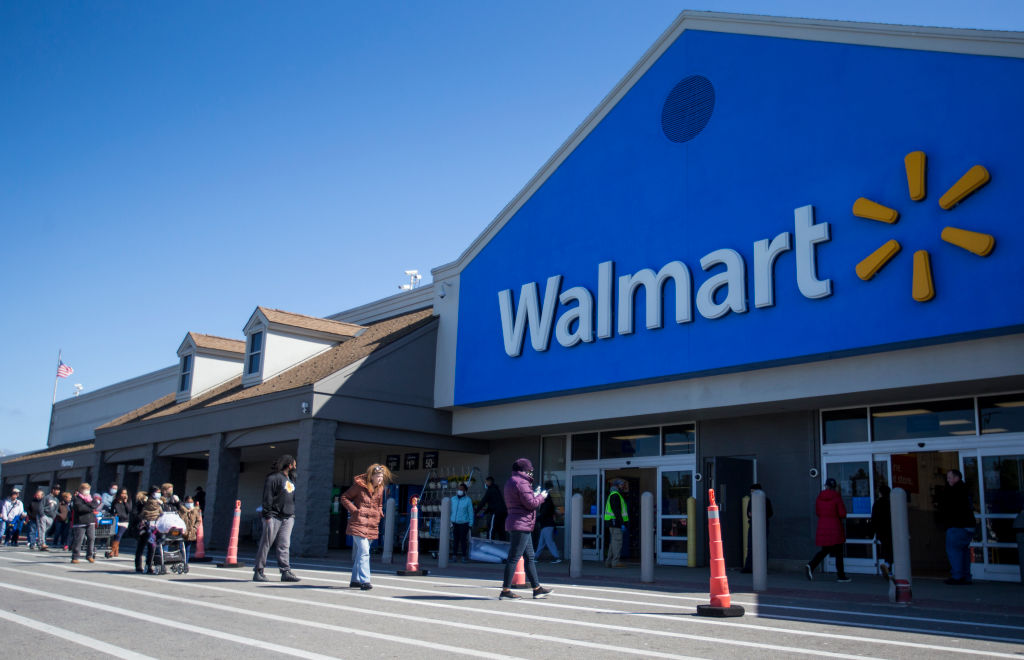 Walmart Gets Big Boost From Pandemic Panic
