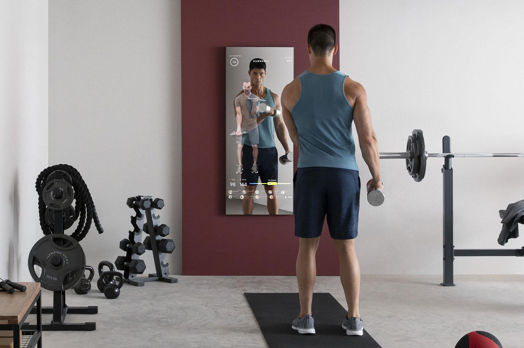 Lululemon Sees Fitness Future in Mirror
