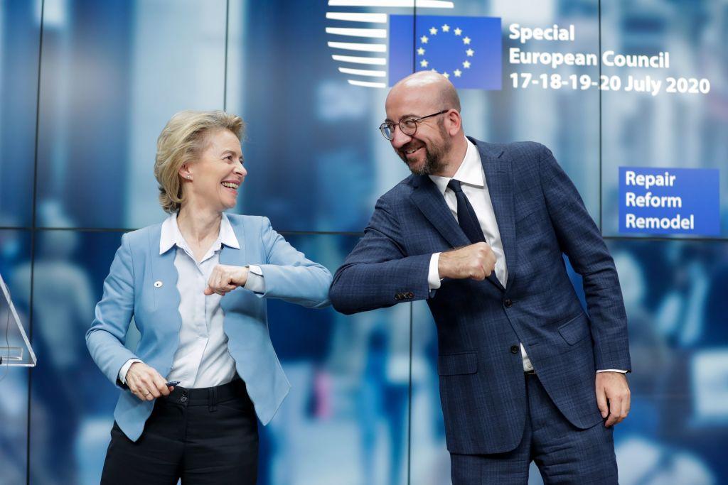 EU Agrees to $857B Economic Recovery Plan