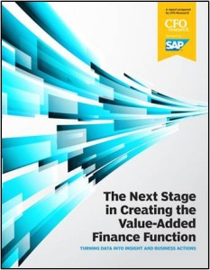 The Next Stage in Creating the Value-Added Finance Function