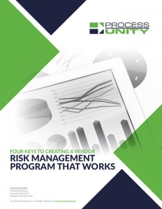 ProcessUnity_WP_4 Keys to Creating a Vendor Risk Management Program_Title