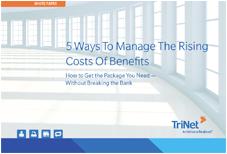 trinet benefits